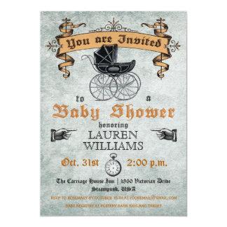 De vintage Uitnodiging van het Baby shower