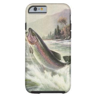 De vintage Visserij van de Visser van de Vissen Tough iPhone 6 Hoesje