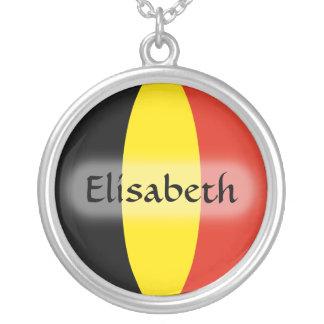 De Vlag van België + Het Ketting van de naam