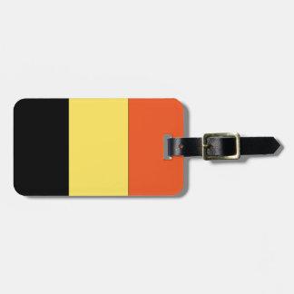 De Vlag van België Kofferlabels