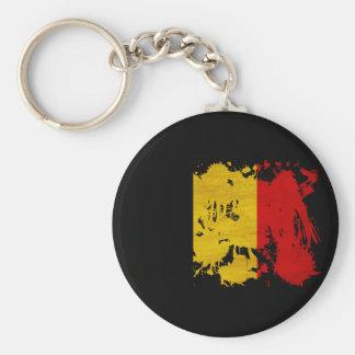 De Vlag van België Sleutelhanger