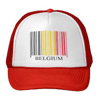 De Vlag van België van de streepjescode Trucker Petten