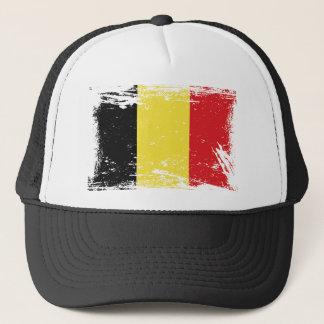 De Vlag van België van Grunge Trucker Pet