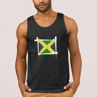 De Vlag van de Borstel van Jamaïca Hemd