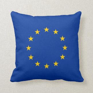 De vlag van de Europese Unie Sierkussen