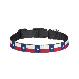 De Vlag van de Staat van Texas Huisdier Halsbandje