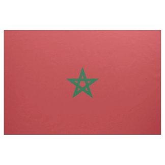 De Vlag van Marokko Stof