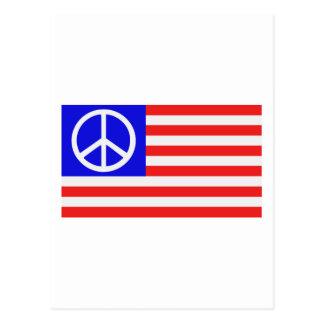 De vlagvrede van de V S Wens Kaart