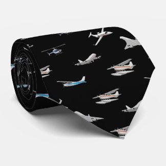 De Vliegtuigen van vliegtuigen Eigen Stropdas