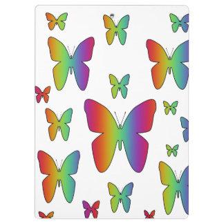 De Vlinders van de regenboog Klembord