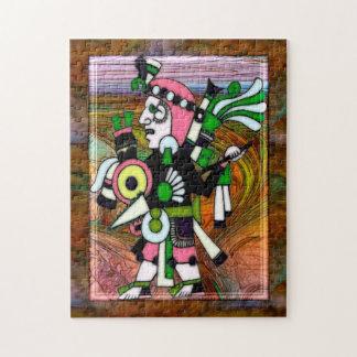 De Volks Traditionele Kunst van Incan Puzzel
