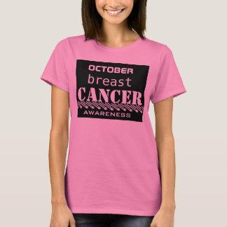 De voorlichting van de borstkanker van oktober, t shirt