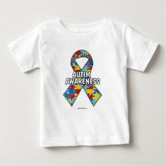 De Voorlichting van het autisme Baby T Shirts