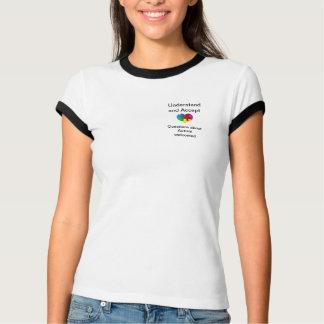 De voorlichtingst-shirt van het autisme t shirt