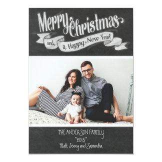 De vrolijke Kaart van de Foto van Kerstmis van het