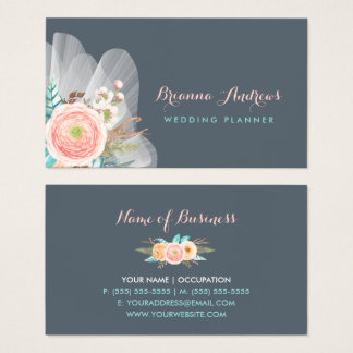 Girly business cards designs collecties op zazzle de vrouwelijke bloemenontwerper van het huwelijk visitekaartjes reheart Image collections