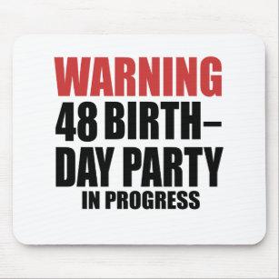 Verjaardag 48 Muismatten Zazzle Be