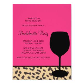 de wijnvrijgezellin van de luipaarddruk kaart