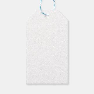 De witte Labels van de Gift Cadeaulabel