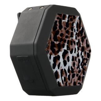 De witte Zwarte Bruine Samenvatting van de Zwarte Bluetooth Speaker