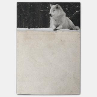 De Wolf van de sneeuw Post-it® Notes