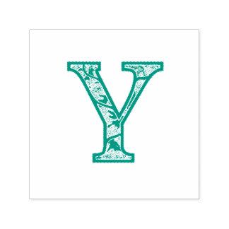 De Y Verlichte zelf-Inkt Zegel van het Monogram Zelfinktende Stempel