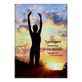 De Yoga van de zonsopgang - de Langste Reis Poster