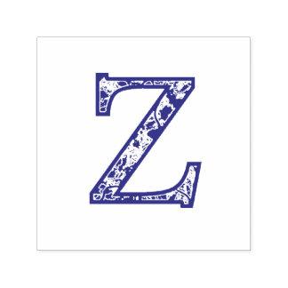 De Z Verlichte zelf-Inkt Zegel van het Monogram Zelfinktende Stempel