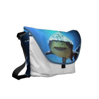 De Zak van de Boodschapper van de haai Courier Bags