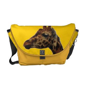 de Zak van Messnger van de Riksja van giraffen Messenger Bag