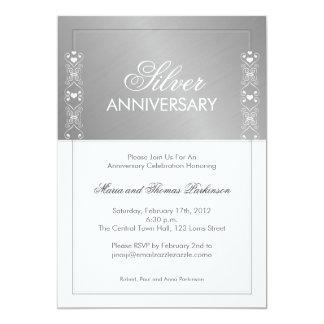 de zilveren uitnodiging van het Jubileum
