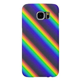 De zonne Diagonaal van het Spectrum Samsung Galaxy S6 Hoesje
