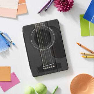 De Zwarte van het Stootkussen van de gitaar iPad Pro Cover