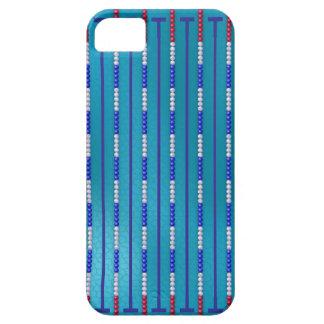 De Zwemmer van het Zwembad Barely There iPhone 5 Hoesje