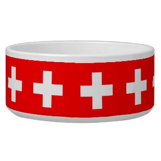 De Zwitserse Kom van het Huisdier van de Vlag