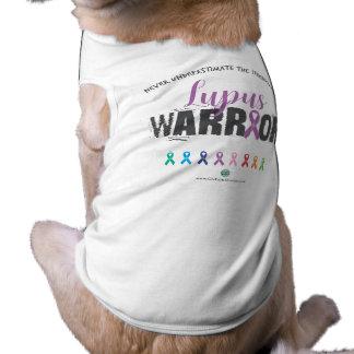 Débardeur à nervures de chienchien t-shirt pour animal domestique