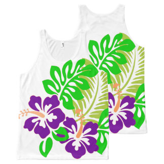 Débardeur abstrait floral de 🌸 tropical
