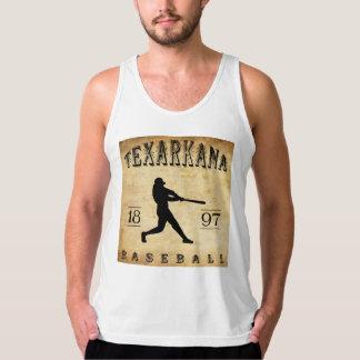 Débardeur Base-ball 1897 de Texarkana le Texas