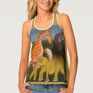 Débardeur Beau safari extraordinaire d'animal sauvage de