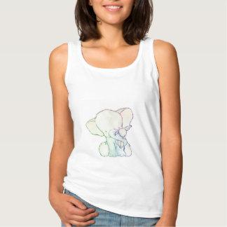 Débardeur Chemises adultes d'éléphant