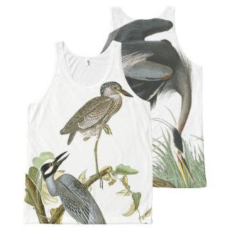 Débardeur d'animaux de faune d'oiseaux de héron