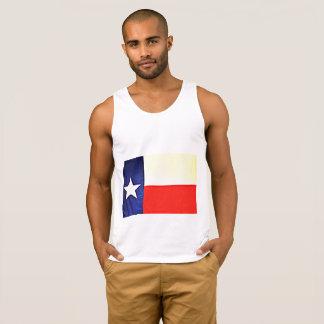Débardeur de drapeau du Texas des hommes