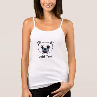 Débardeur d'ours blanc