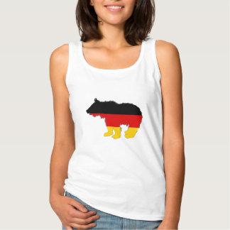 Débardeur Drapeau allemand - ours CUB