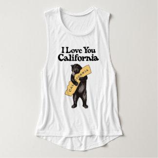 Débardeur Étreinte d'ours vintage de la Californie