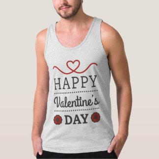 Débardeur Homme Jersey Fin Saint Valentin
