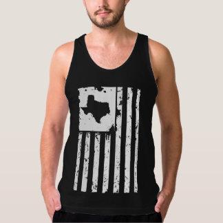 Débardeur Le Texas patriotique et drapeau américain