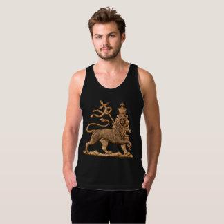 Débardeur Lion of Judah - Haile eux - Jah - réservoir super