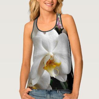 Débardeur Orchidées blanches