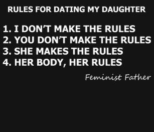 Règles du père pour la fille datant